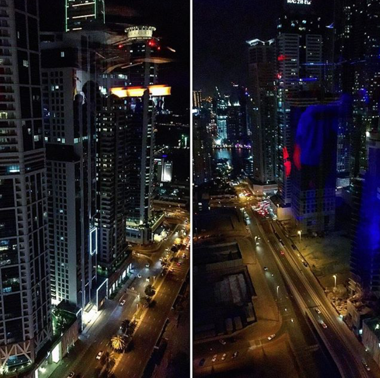 night view dubai